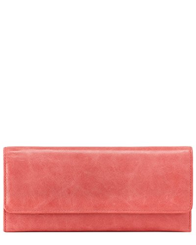 Womens Leather Continental Clutch Wallet