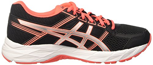 Scarpe Contend Asics Silver Running Gel Donna Coral Black Flash 4 Nero 6544tq