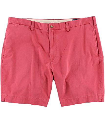 (Polo Ralph Lauren Mens Colored Classic Fit Casual Shorts Red 42)