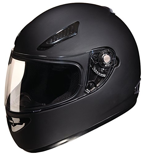 Studds Rhyno Full Face Helmet (Matt Black, L)