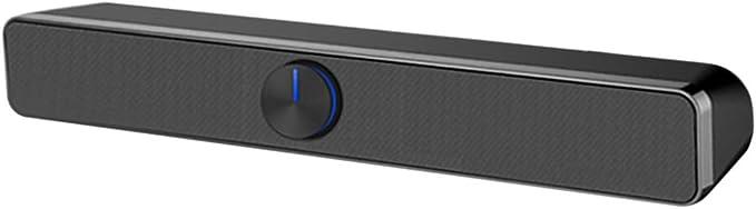 Docooler Usb Kabel Computer Lautsprecher Soundbar Stereo Subwoofer Leistungsstarker Musik Player Bass Surround Soundbox 3 5 Mm Audioeingang Für Pc Laptop Smartphone Tablet Mp3 Mp4 Audio Hifi