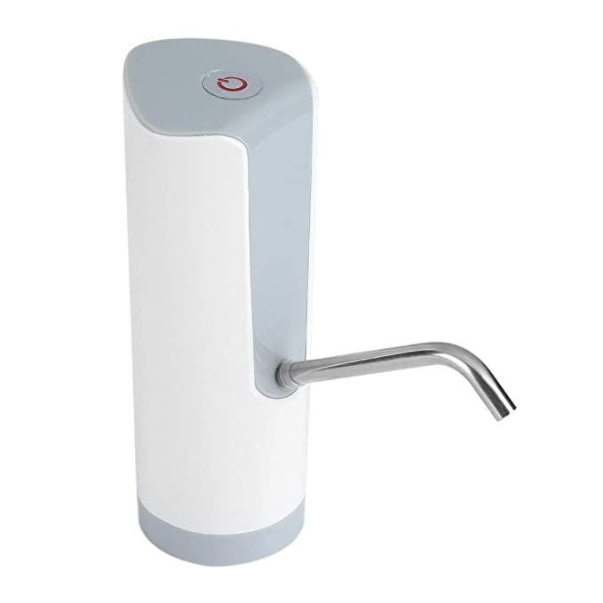 Fdit Agua Potable Automática Eléctrica Bomba Dispensador de Agua Potable Botellas con Botón Superior de Interruptor para Mayoría de Agua para Hogar ...
