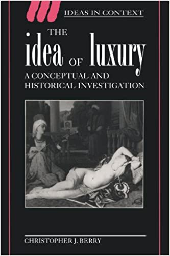 Descarga gratuita de android para netbook.The Idea of Luxury: A Conceptual and Historical Investigation (Ideas in Context) by Christopher J. Berry in Spanish FB2