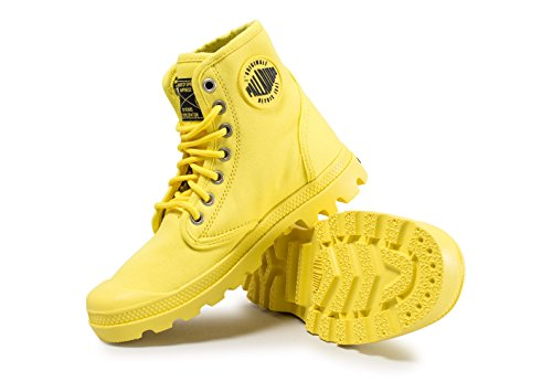 Palladium Pampa Fest Pack, Baskets Hautes Mixte Adulte Jaune