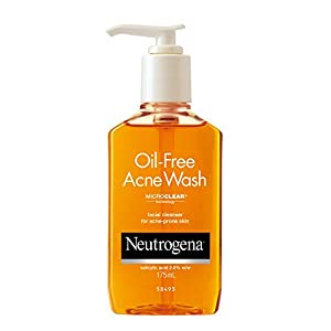 Neutrogena Oil Free Acne Wash For Acne Prone Skin With Salicylic Acid, 175ml