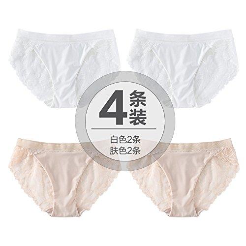 Pizzo Trasparenti Tessuto Zhfc Slip Le Sexy Pantaloni Ragazze Bianca Pelle 2 Di In Saldatura Cotone Sottile Seta Senza 4 07qEr0O