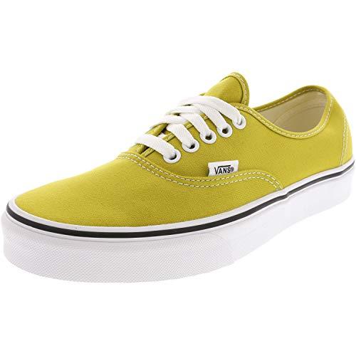 - Vans Authentic Mens 8 Womens 9.5 Cress Green True White Skate Shoes