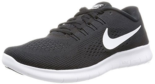 NIKE Women's Free RN Running Shoe Black/Anthracite/White Size 6.5 M US