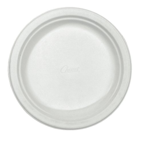 Chinet 21226CT Classic Paper Plates, 6 3/4 Inches, White, Round (Case of 1000)