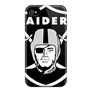 Great Hard Cell-phone Case For Iphone 6plus With Customized HD Oakland Raiders Skin ChristopherWalsh