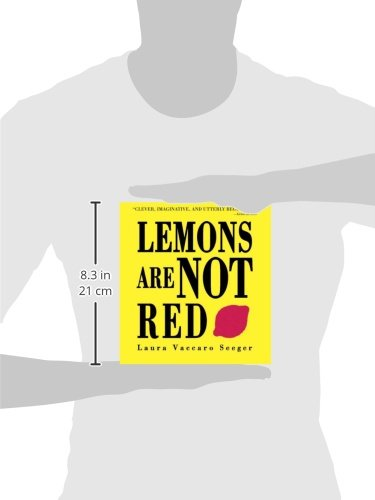 Lemons are not red ala notable book awards neal porter for Square fish publishing
