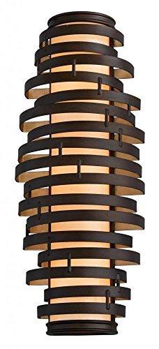Corbett Lighting Bronze (Corbett 28574336 Corbett Three Light Bronze/Gold Leaf Wall Light - 782042764347 by Corbett)