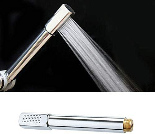 Tool Pressurized Water Saving Shower Head ABS With Chrome Plated Bathroom Hand Shower Water Booster Showerhead P