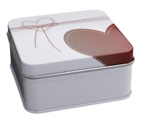 Gravurenalarm® Geschenkbox aus Metall - ideal für Liebesschloss