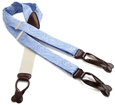 Trafalgar Men's Brentwood Paisley Brace Suspender