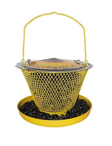 Designer Single Sunflower Wild Bird Feeder