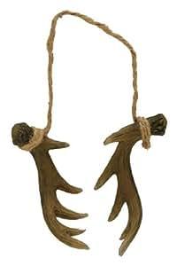 Antler Ornament (Nice Detail), 3-inch