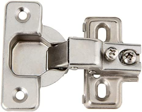 Silverline Face Frame Concealed Euro 105deg Regular Closing Compact Cabinet Hinges 25 Pack Amazon Com