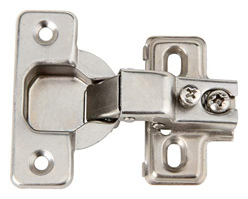 Face Frame Concealed Cabinet Hinges Self Closing 1150wd Compact Euro 25 Lot Pack