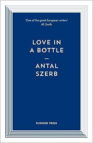 Love in a Bottle (Pushkin Blues)