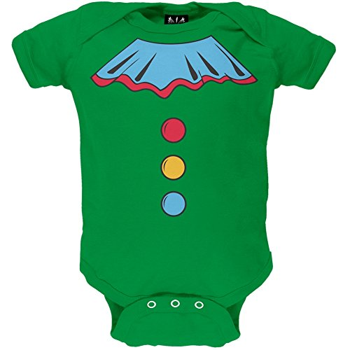 [Halloween Clown Costume Baby One Piece - 0-3 months] (Inappropriate Halloween Costumes For Babies)