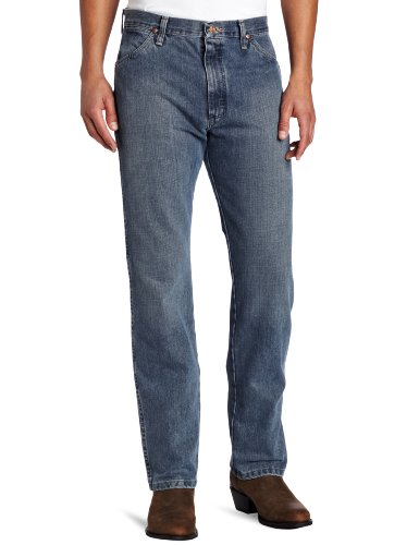 Wrangler Men's Cowboy Cut Original Fit Jean, Rough Stone, 30x34 (Heavyweight Jeans Classic)
