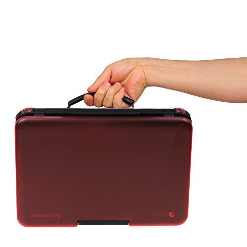 iPearl mCover Hard Shell Case for 11.6 Lenovo N21 / N22 Series Chromebook Laptop (NOT Fitting Lenovo N22 Winbook) (RED)