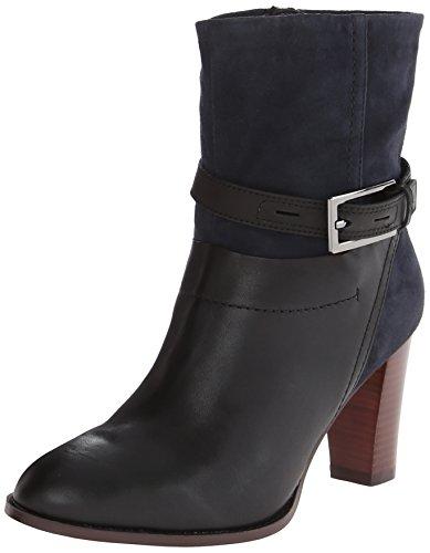 Clarks Women's Kacia Garnet Boot,Navy Combo,7 M US