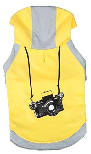 Blueberry Pet 2 Colors Camera Dog Hoodie