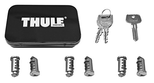 Rack Pack 6 (Thule 596 Lock Cylinders for Car Racks (6-Pack))