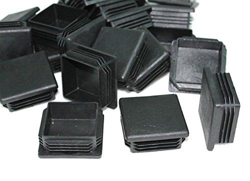 2 Square Plastic Plug Cap For Square Tubing 16-20 GA Lot Of 20 Caps