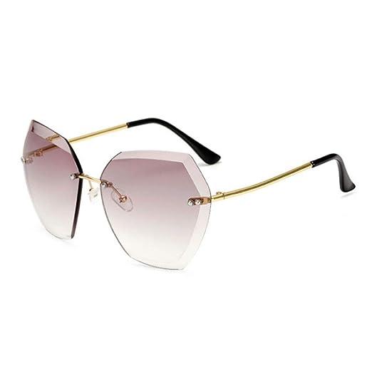 Yangjing-hl Gafas de Sol para Hombres Gafas de Sol clásicas ...