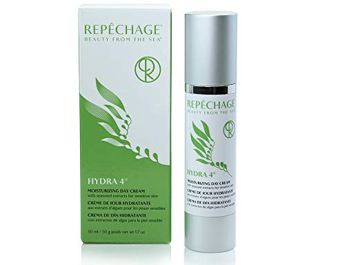 (Repechage Hydra 4 Day Protection Cream Age Defying Face Lotion with Antioxidants, Hyaluronic Acid, Retinol, Vitamin E, Vitamin C, Squalane, Lactic Acid for Sensitive and Dry Skin)