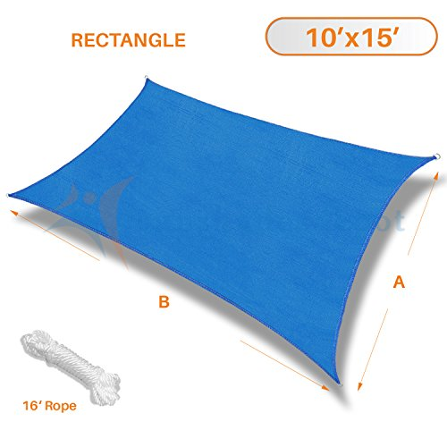 Sunshades Depot Rectangle Permeable Commercial product image