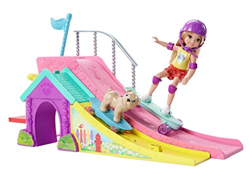 Barbie Club Chelsea Flips & Fun Skate Ramp
