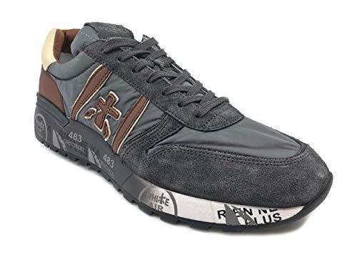 Uomo Lander Sneaker Grey 3243 Grigia Premiata qatgwUxq
