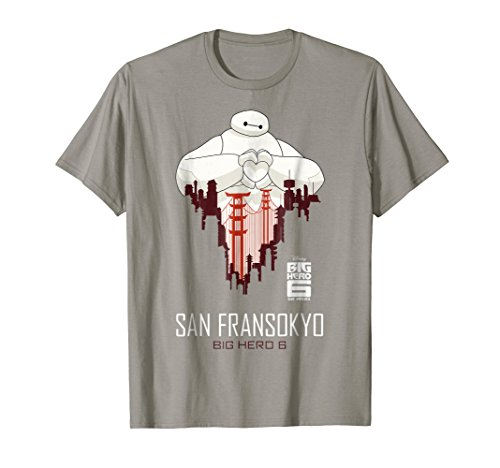 Disney Big Hero 6 TV Series Baymax SF Love Graphic T-Shirt by Disney (Image #2)