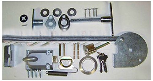 Lock Rod Set - Garage Door Lock Set 1 Car Door Torsion Spring