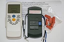 Thermostatic Ceiling Fan Remote Control Universal Kit