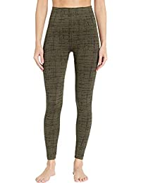 Women's Look at Me Now Seamless Leggings Olive Crosshatch...