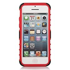 KAYSCASE ArmorBox Heavy Duty Cover Case for Amazon Fire Smartphone 2014 Version (Red)