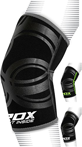 RDX Neoprene Elbow Support Brace Sleeve Pad Guard Bandage Elasticated Shield Protector (This is Sold as Single (Neoprene Elbow Support)