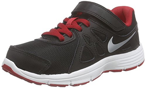 black 2 Noir Revolution Gar Shoes Nike Schwarz Psv metallic Silver white gym On Red 8Ywxwq