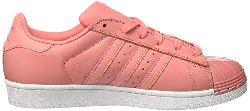 Adidas Dame Superstar 80s Metal Tå Sneakers, Pink (taktil Rose / Fodtøj Hvid Taktil Rose / Taktil Rose / Fodtøj Hvid)