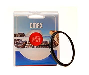 Omax 49mm Lens Protection Multi Coated  mc  uv Filter for Canon ef 50mm f/1.8 STM Lens Camera   Photo Skylight   UV Filters