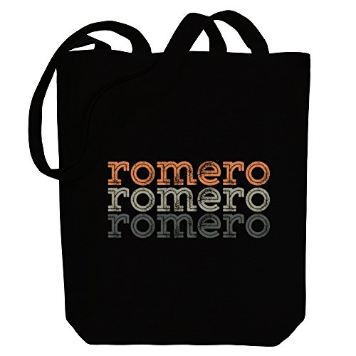 Idakoos Romero repeat retro - Nachnamen - Bereich für Taschen