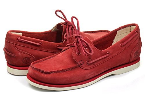 Timberland Classic Boat Rojo