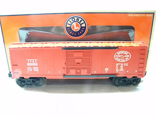 Lionel 39212 Spokane, Portland & Seattle 6464 Box (Seattle Boxcar)
