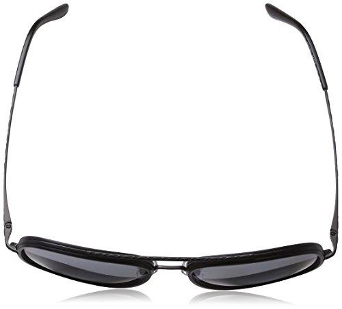5a8d01c721 Giorgio Armani Mens Sunglasses (AR6039) Black Matte Grey Metal - Polarized  - 56mm