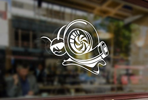 Tuning Cars Turbo (25cm Turbo Snail JDM Style Art Vinyl Stickers Funny Decals Bumper Car Auto Computer Laptop Wall Window Glass Skateboard Snowboard Room Tuning)